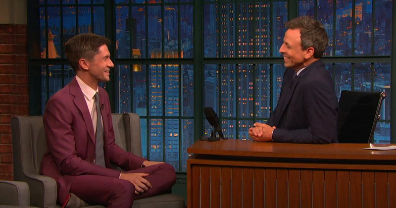 Topher Grace, Seth Meyers