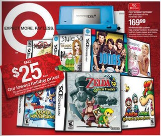 Illustration for article titled Target Doles Out The Holiday Game Bargains