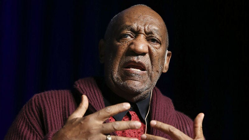 Illustration for article titled Bill Cosby Won't Be Deposed in Janice Dickinson's Defamation Lawsuit, For Now