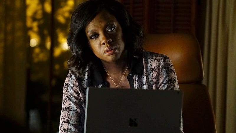 Viola Davis in How To Get Away With Murder, an ABC show that hackers might … leak … or something. (Richard Cartwright/ABC via Getty Images)