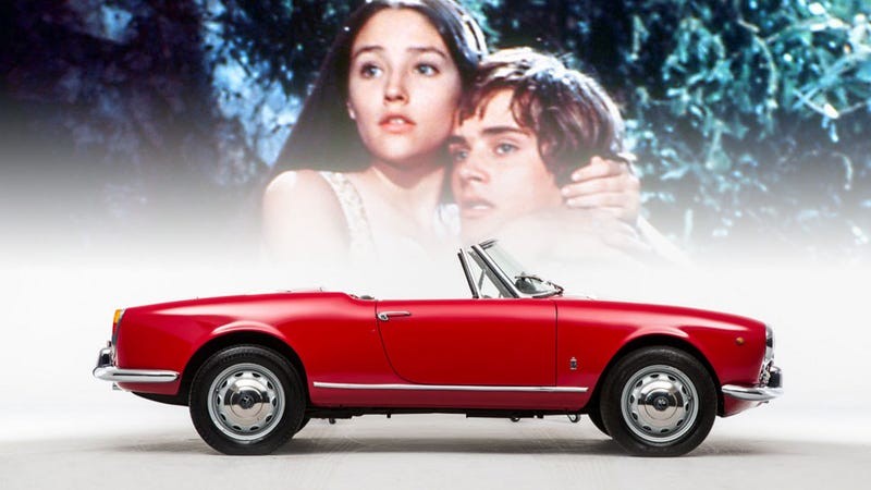 is the alfa romeo giulietta named because of romeo and juliet?