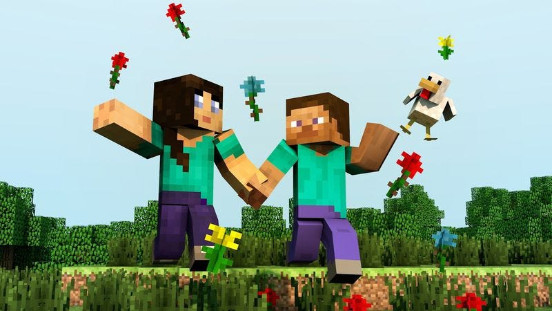 Illustration for article titled Microsoft is buying Minecraft