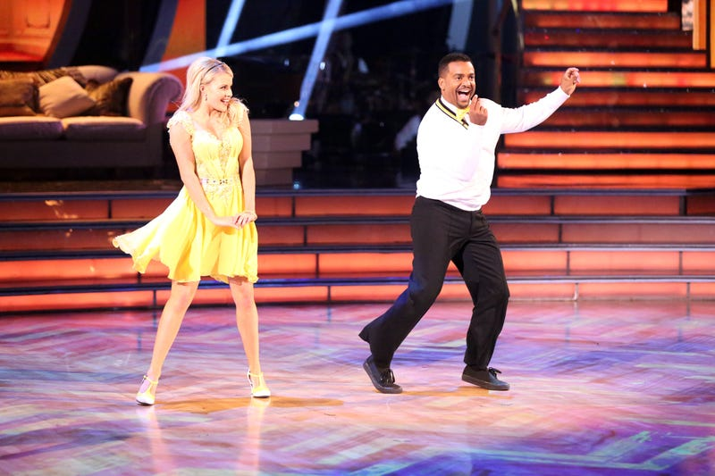 Ribeiro and his dance partner Witney Carson on season 19 of Dancing With The Stars (Photo: Adam Taylor/ABC via Getty Images)