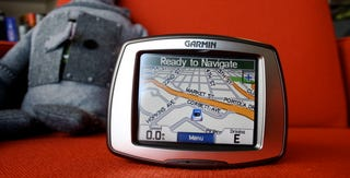 Illustration for article titled Hands On Garmin's Streetpilot C580 GPS: Instant Traffic, Movies, Gas Prices...with a Catch [UPDATED]