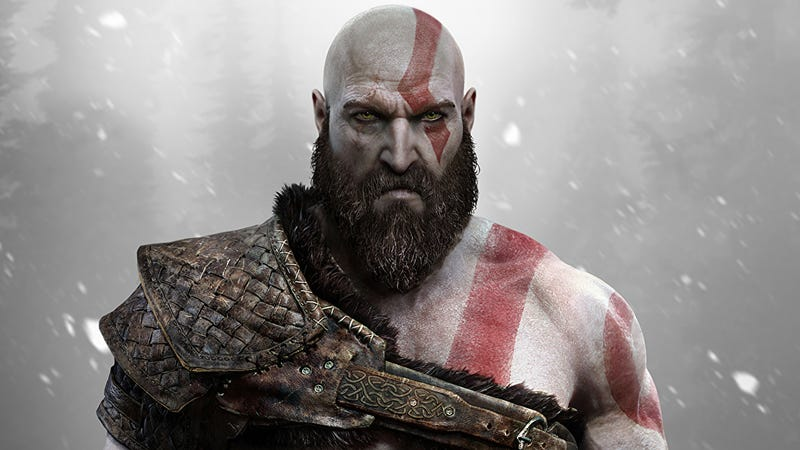 Illustration for article titled God Of War Director, On Kratos' Beard: 'It Smells Of Pine And DeadTrolls'