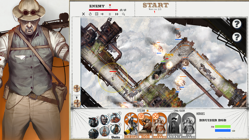 Illustration for article titled The Battle for Steam-Powered Tower Defense Supremacy Begins on Facebook