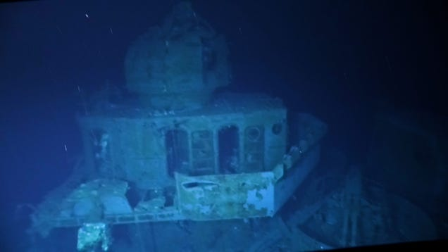 Navy Ship Sunk in Historic World War II Battle Is Now the Deepest Explored Wreck