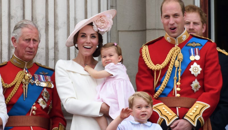 Illustration for article titled Princess Charlotte Looks Skeptical of This Public Appearance Business