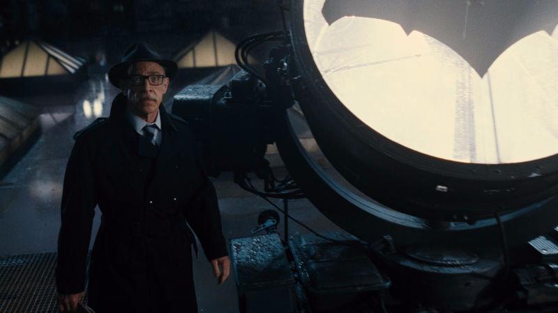 Image: Warner Bros. Commissioner Gordon, an allegory for one composer's noble struggle.