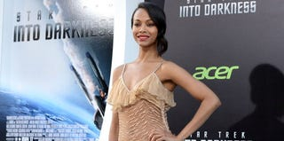 Zoe Saldana at the premiere of Star Trek Into Darkness (Kevin Winter/Getty Images Entertainment)
