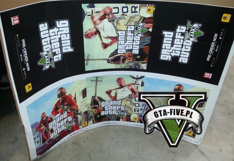 Illustration for article titled Supposed GTA V Posters Promise Spring 2013 Release Date