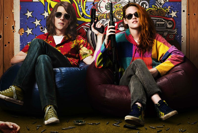 Illustration for article titled Kristen Stewart's Trippy New Poster for Spy-fi Flick American Ultra