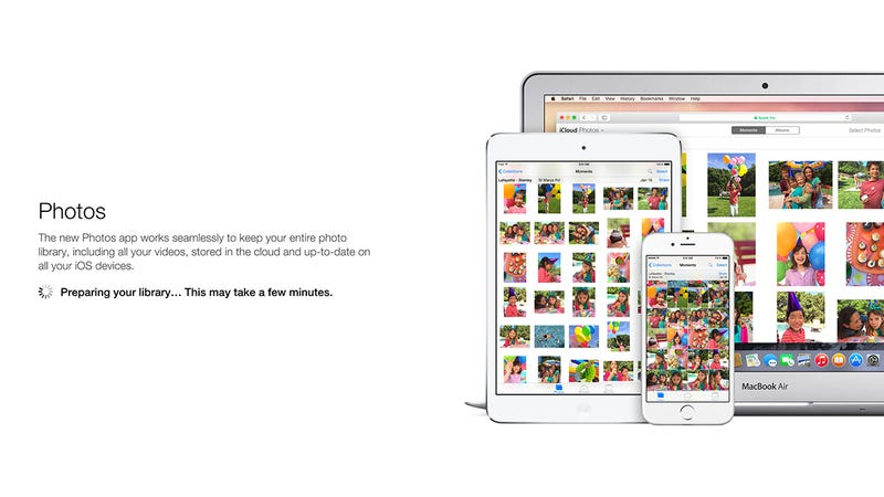Illustration for article titled How to Try Out Apple's New Photo Storage Service Now