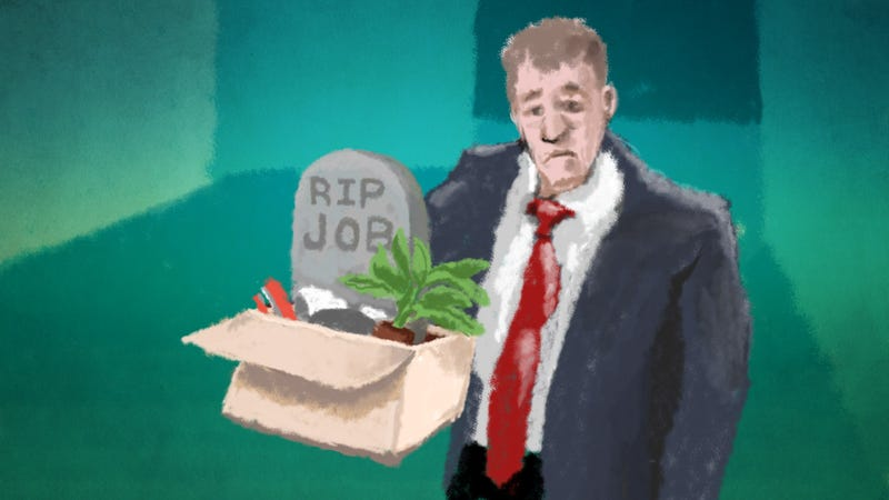 Illustration for article titled The Five Stages of Grief After Losing a Job