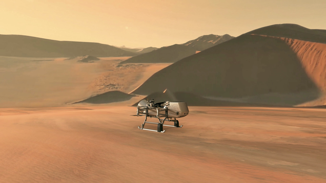 NASA Is Officially Sending an Aerial Drone to Titan and It's a Dream Come True
