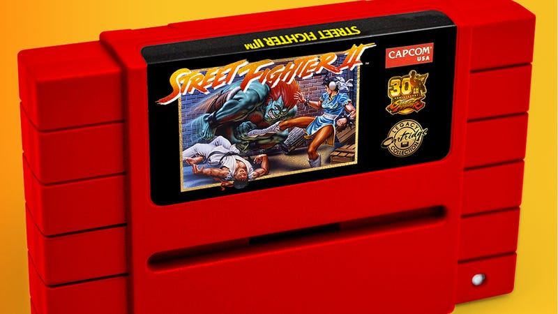 Illustration for article titled Capcom Is Re-Releasing Street Fighter II On A SNES Cartridge