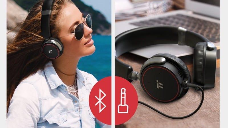 TaoTronics Bluetooth On-Ear Headphones | $20 | Amazon | Promo code KINJAHX8