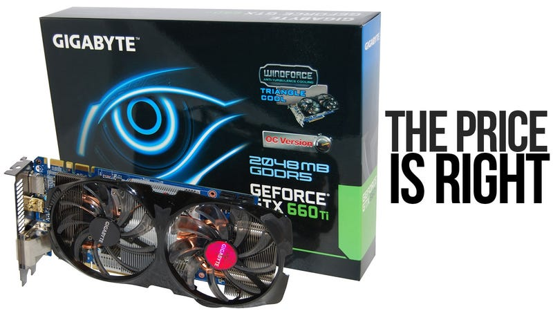 Illustration for article titled Price to Performance, Nvidia's Latest is the Best Video Card Value Going