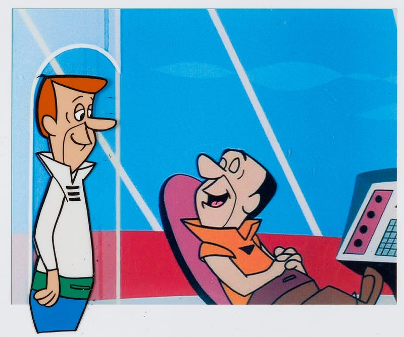 Illustration for article titled Incredibly Rare Jetsons Animation Art Goes Up For Auction