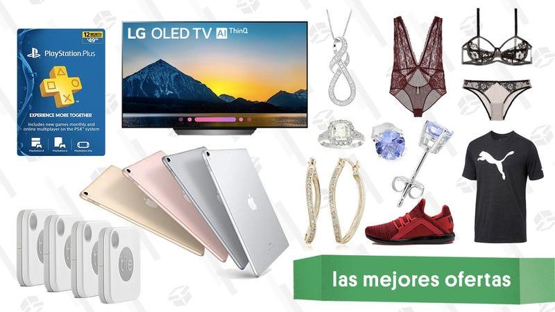 Illustration for article titled Las mejores ofertas de este viernes: PlayStation Plus, televisores OLED, iPad Pros y más