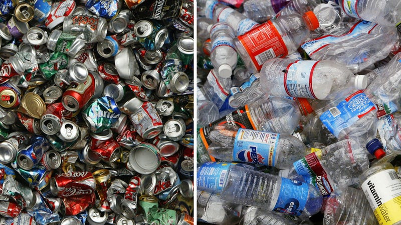 Illustration for article titled Are Soda Cans or Plastic Bottles Worse for the Environment?