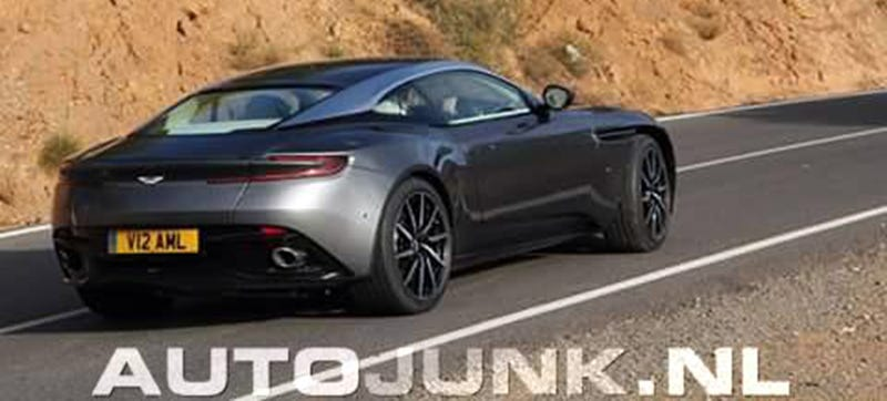 Aston Martin DB11: Is This Its Gorgeous Rear End?