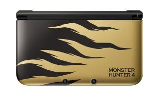 Illustration for article titled A Monster Game Deserves Yet Another Monster 3DS XL