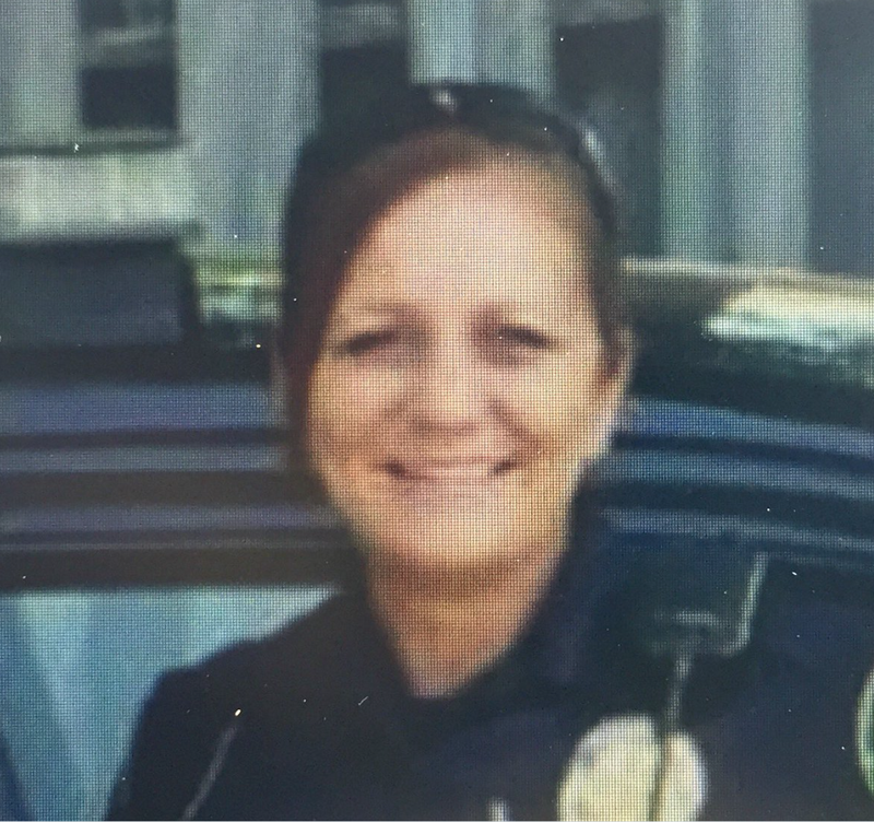 Jackson police officer Sherry HallAudrey Washington/WSB-TV