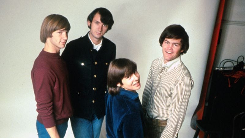 Illustration for article titled The Monkees