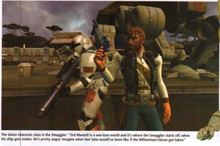 Illustration for article titled Interview Confirms Smuggler Class for SW:TOR