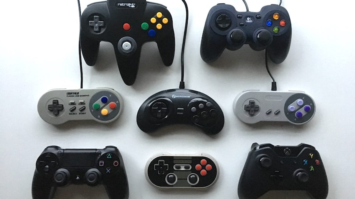 the best controllers for retro gaming