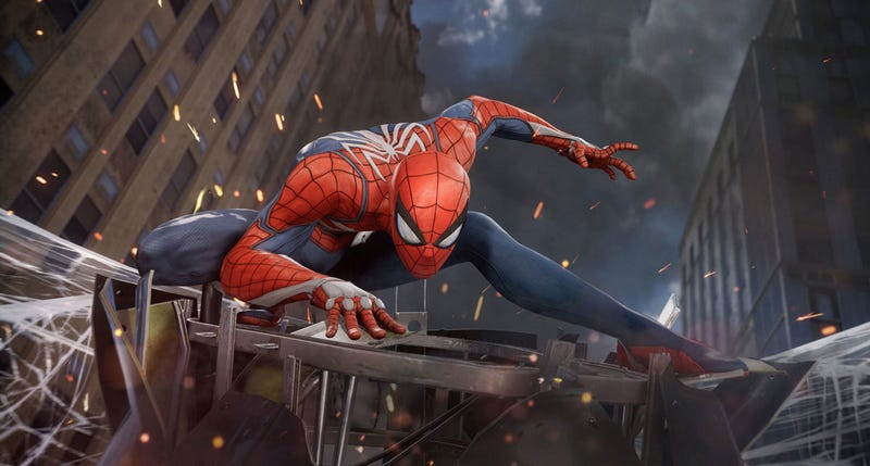 Illustration for article titled Small Fire Interrupts E3 Spider-Man Panel