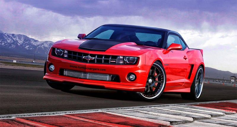 Illustration for article titled Artisan Performance SA-600: 600 HP, Twin-Turbo Camaro