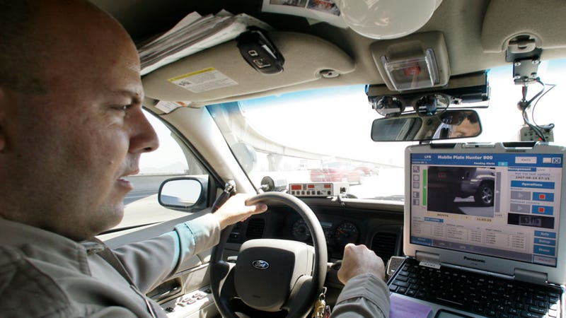 Illustration for article titled Cops Are Building Massive Databases With License Plate Readers