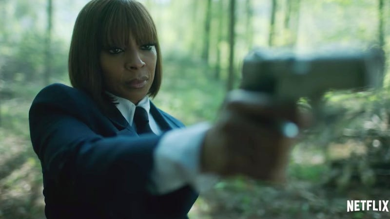 In Gerard Way's Apocalyptic Netflix Show Umbrella Academy, Mary J. Blige Is a Time-Traveling Assassin