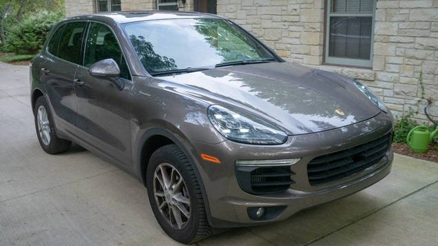 At $43,000, Is This 2015 Porsche Cayenne The Brown Diesel Wagon We All Want?