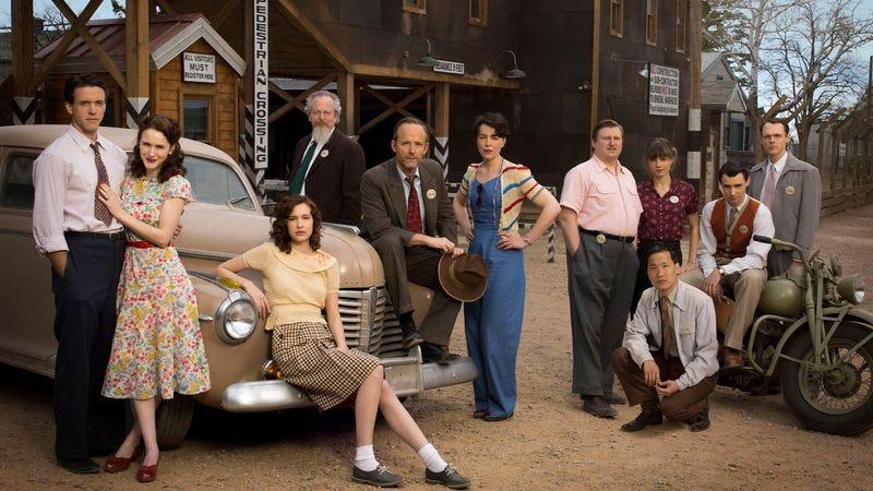 The cast of Manhattan (WGN)
