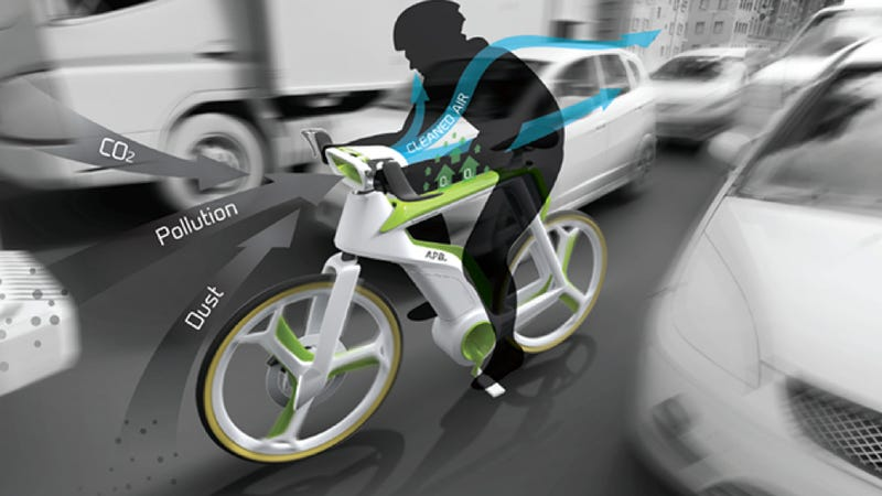 Illustration for article titled Can This Electric Bicycle Really Save The Planet?