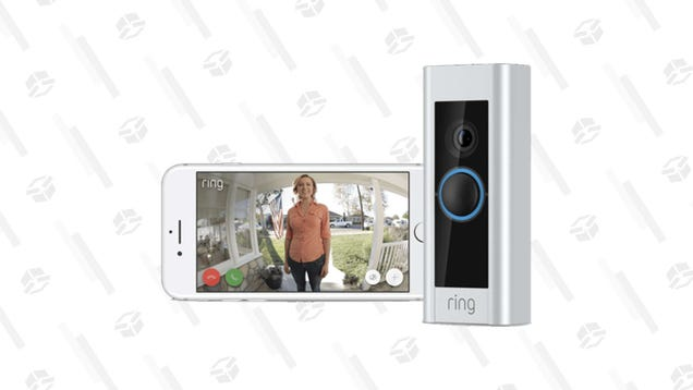 Keep an Eye Out for Visitors With a Certified Refurbished Ring Video Doorbell Pro, Only $95 Today