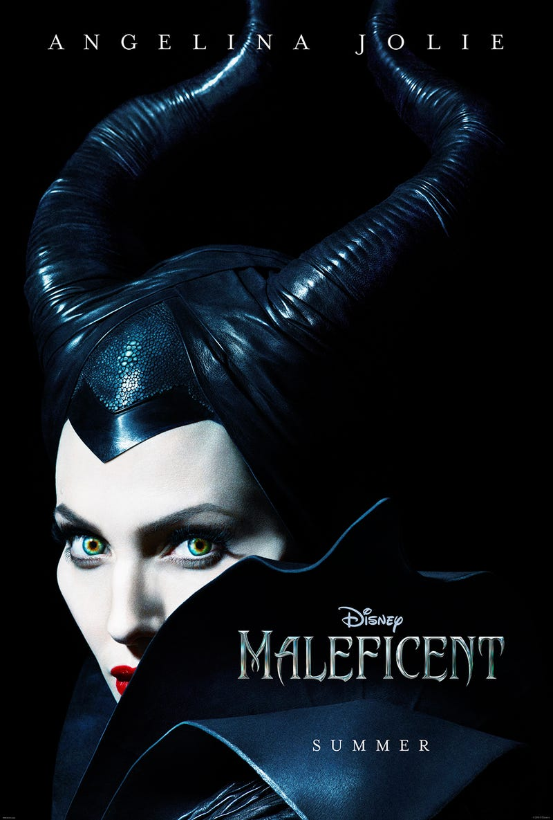 Illustration for article titled Angelina Jolie's Maleficent Has Gorgeous Leather-Wrapped Horns