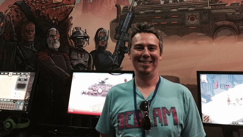 Skyshine's Bedlam creative director Sam Gage