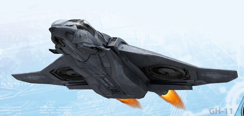 Illustration for article titled Is this really concept art of The Avengers' Quinjet?