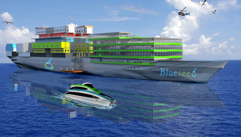 This Floating Barge City Is the Most Far-Flung Immigration Solution Yet
