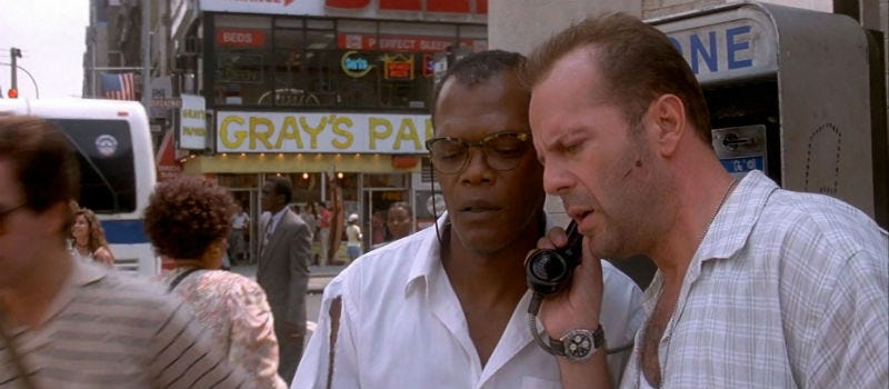 Illustration for article titled Could Bruce Willis and Samuel L. Jackson Have Stopped That Bomb If They'd Just Taken An Uber?