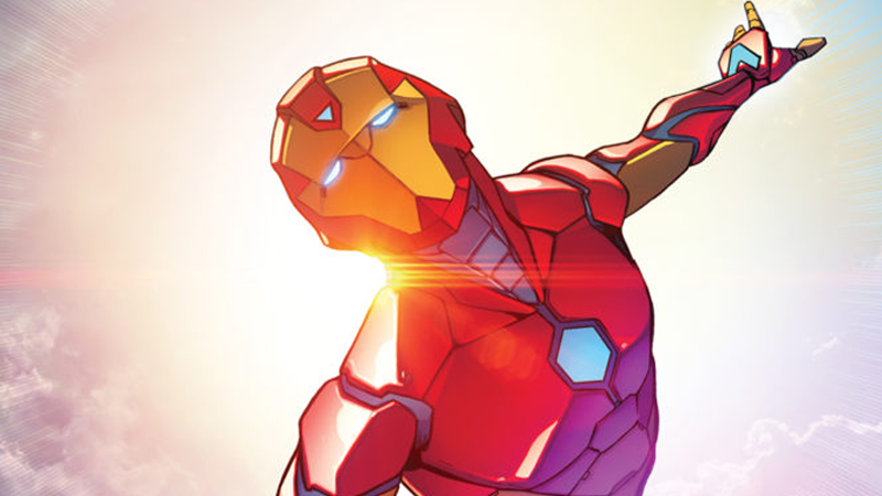 The new Iron Man has a new name
