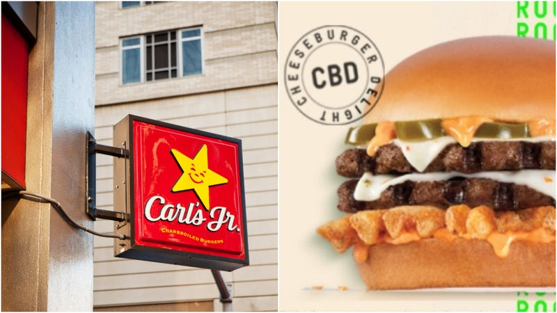 Illustration for article titled Carl's Jr. to introduce CBD burger on 4/20