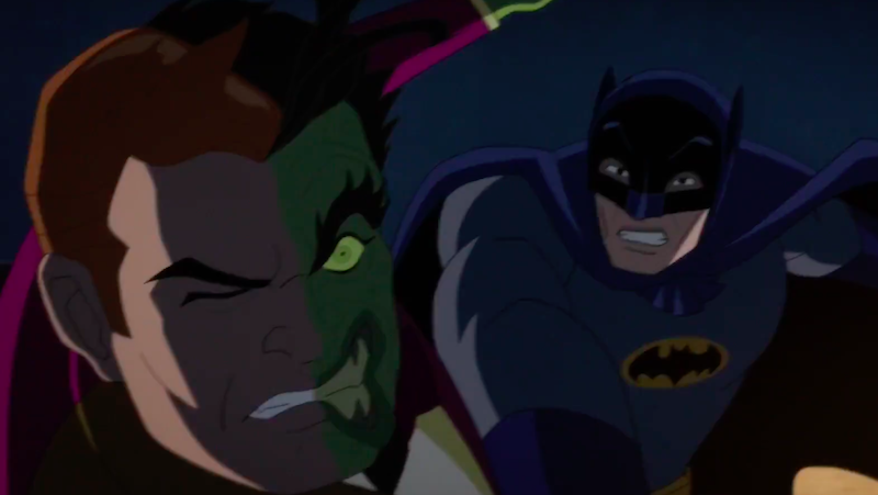 'Batman Vs. Two-Face' Debut Trailer Hits The Web