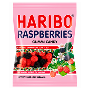 Illustration for article titled Today's Gummi: Haribo Raspberries
