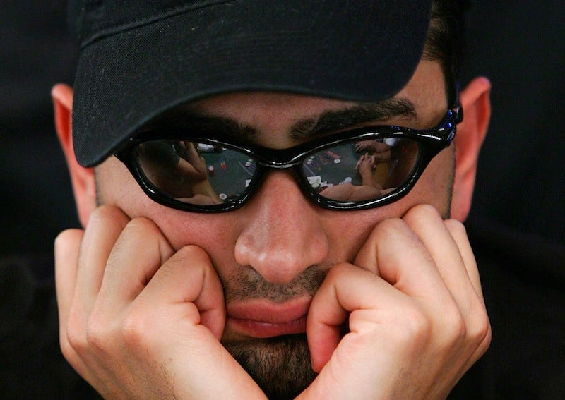 Illustration for article titled Poker Player Disqualified From Tournament For Peeing At The Table