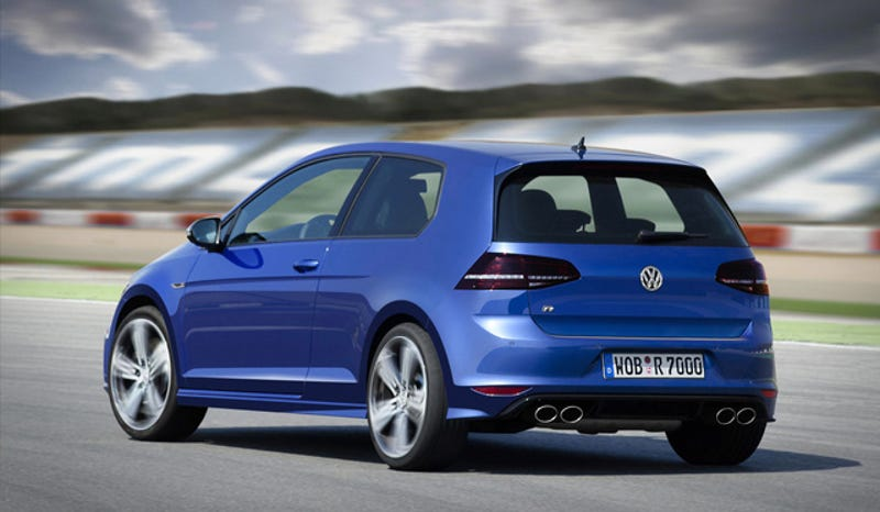 2015 VW Golf R Gives Americans Choice Of Transmissions Not Door Count
